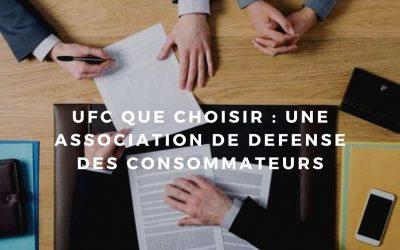 Comment utiliser les services d'UFCQue Choisir?
